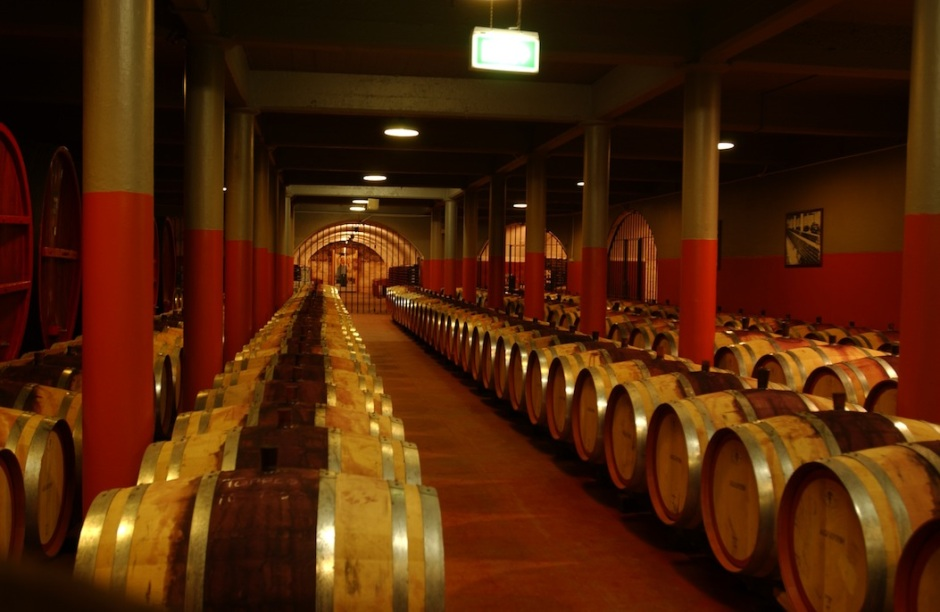 Penfolds wine cellars, Adelaide, Australia. Credit: Wikimedia Commons.