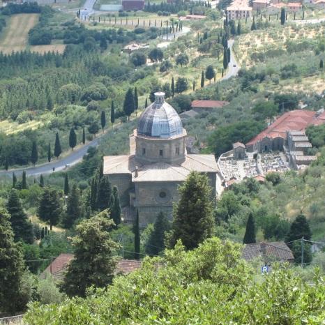 View from Cortona.