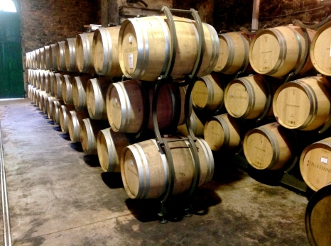 More French influence? Some of d'Alessandro's wines are aged in oak.